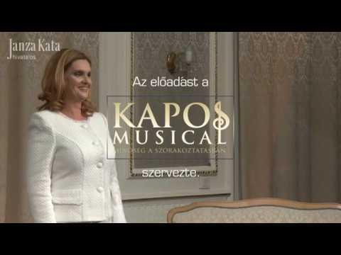Janza Kata - Matuzsa panasza - KaposMusical produkció