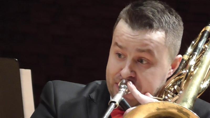 С Верхелст Дьявольский вальс для 2 х бас тромбонов исп Ал р Ковальчук и Мих Винницкий