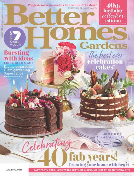 2018-08-01 Better Homes and Gardens Australia