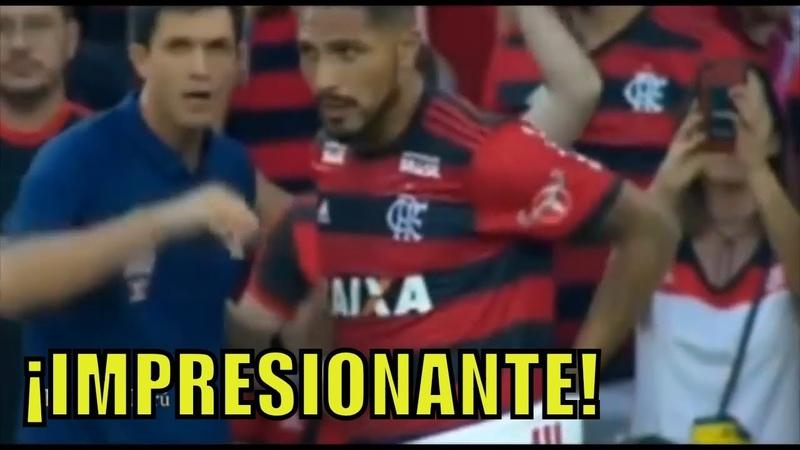 Paolo Guerrero volvió a Flamengo y así lo recibió la Torcida de Flamengo