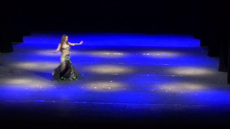Ротай Светлана на гала-концерте Открытого чемпионата по восточным танцам