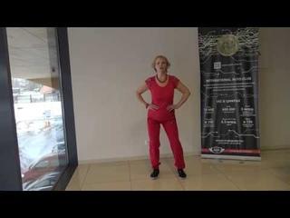 """#AUG, Гимнастика, упражнение для женщин """"Чтобы грудь стояла""""!"""