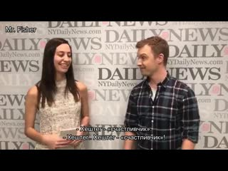 Noel fisher talk about shameless (2017) rus. subtitles