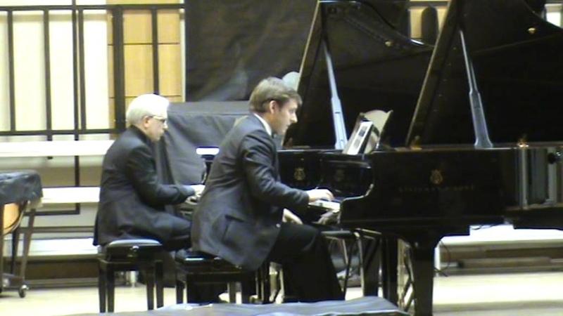 S Lyapunov Ballade for two pianos op 2 C sharp minor S Masychev N Kurdyumov