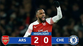 Arsenal vs Chelsea 2-0 Highlights & All Goals (19/01/2019)