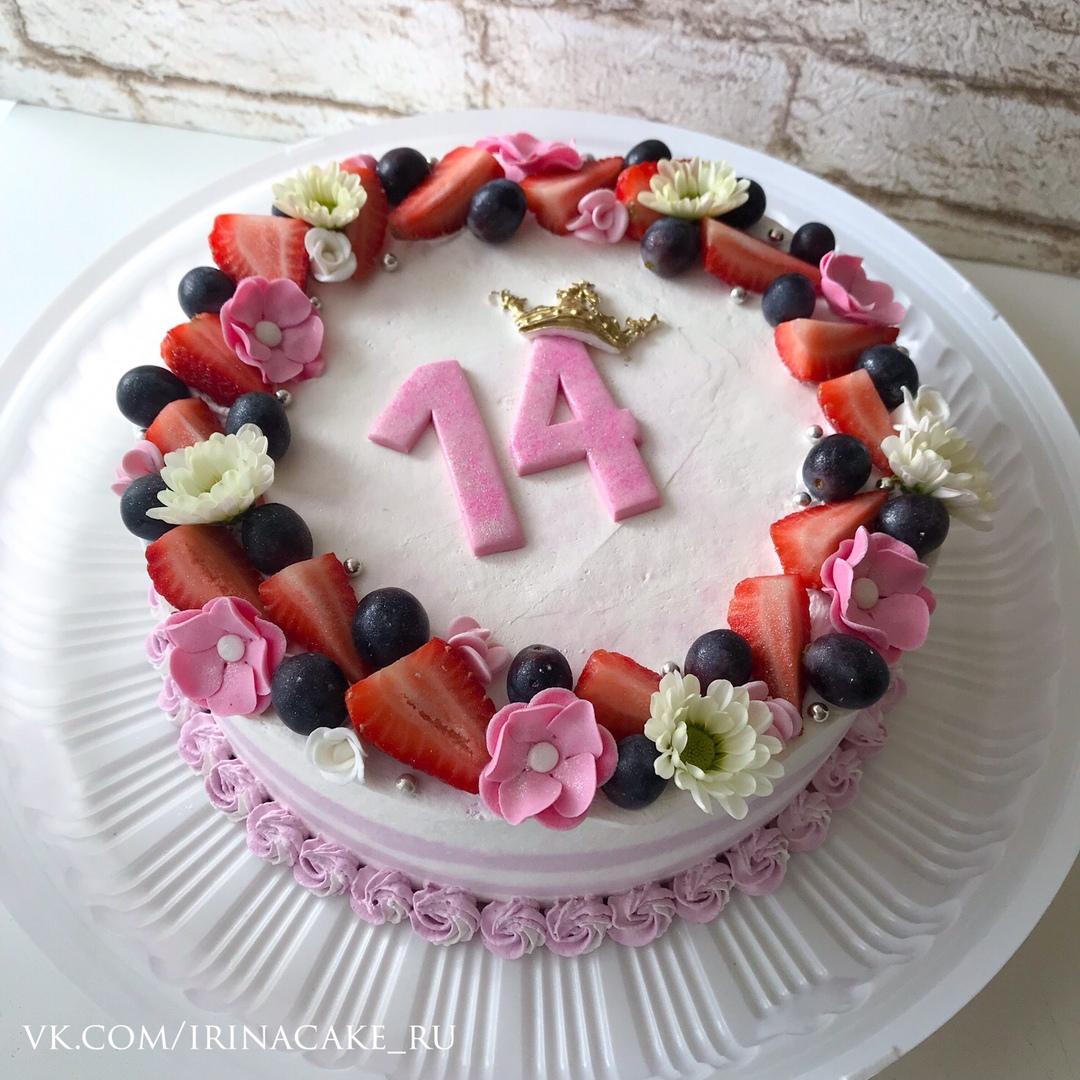 Торт для девочки на 14 лет (Арт. 500)