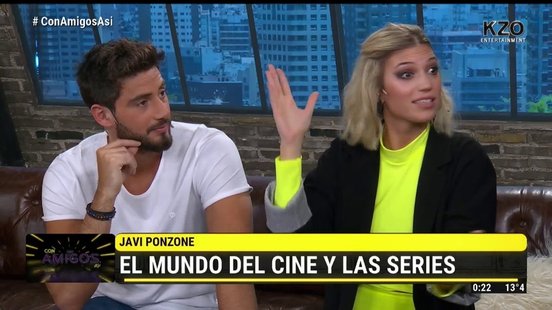 ¡Javi Ponzo volvió a Con amigos así!   El mundo del cine y las series