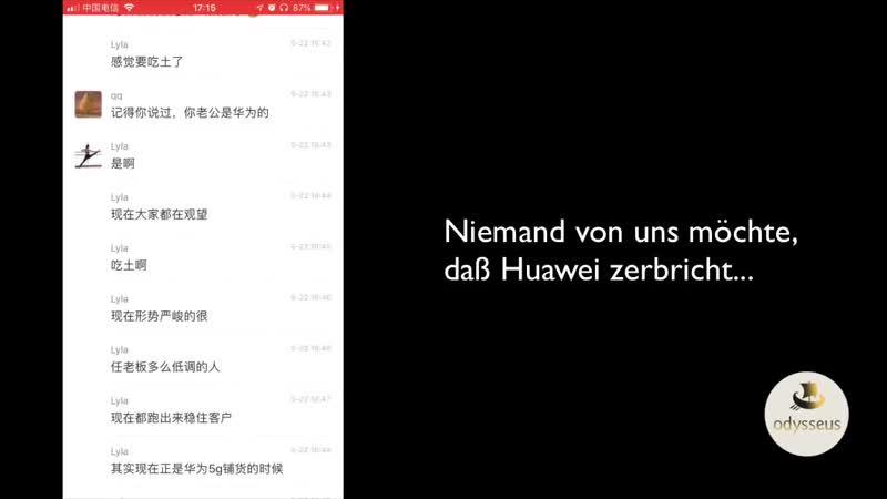 EILT GELEAKT Huawei Mitarbeitern sagt WAHRHEIT über 5G