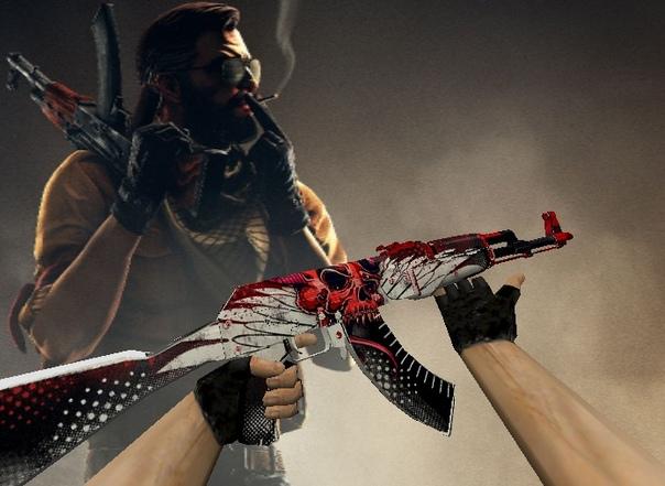 AK47 Красный Шакал