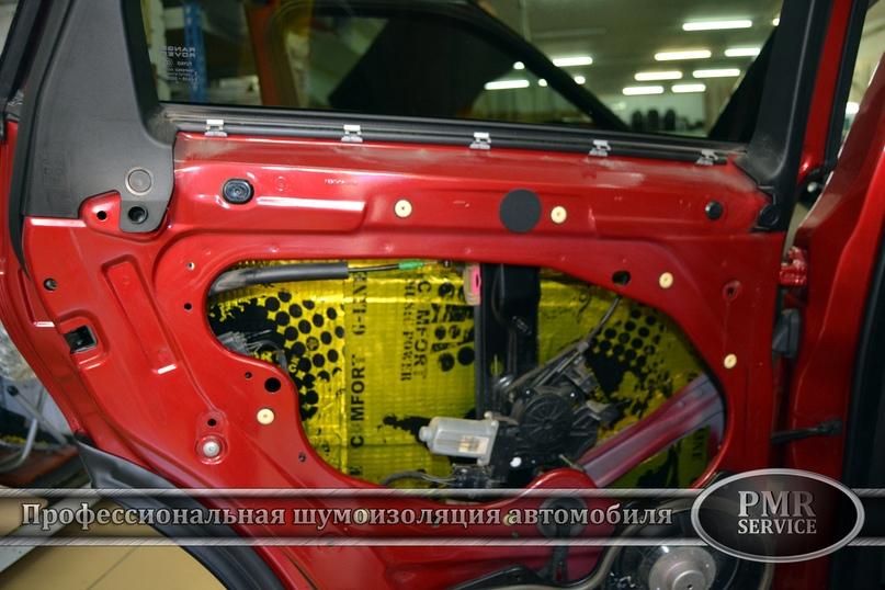 Комплексная шумоизоляция Land Rover Evoque, изображение №13