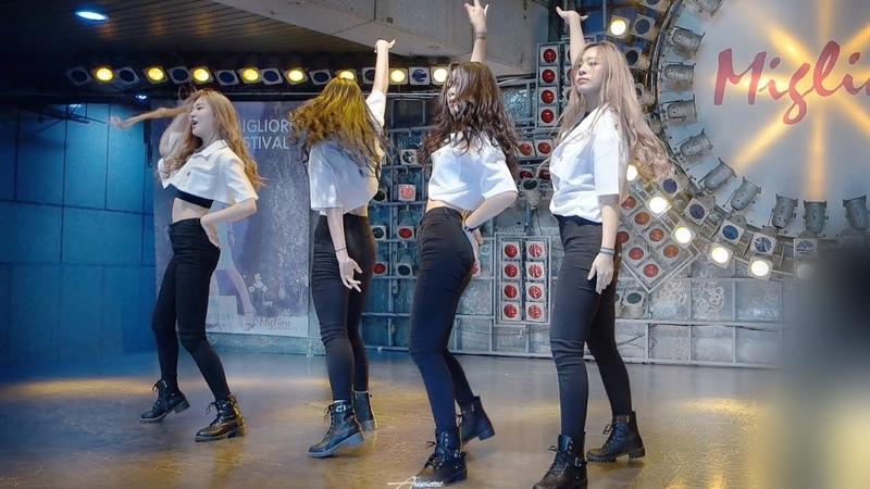 170827 엘아이티 LIT 직캠 마지막처럼 BLACK PINK Dance Cover 1440p 60fps @ 프로젝트 신발 Filmed by lEtudel