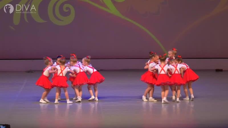 Детский танец 4 5 лет Матрёшка хореограф Ольга Завиялова студия танцев DIVA