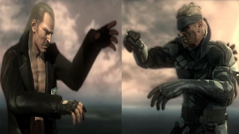 Solid Snake vs Liquid Ocelot