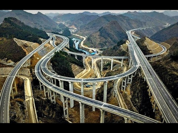 Как Китайцы Строят Дороги