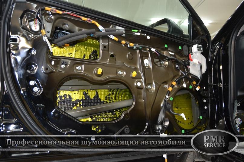 Комплексная шумоизоляция Toyota Camry, изображение №15