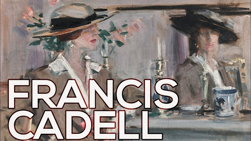 Francis Cadell A collection of 184 works (HD)