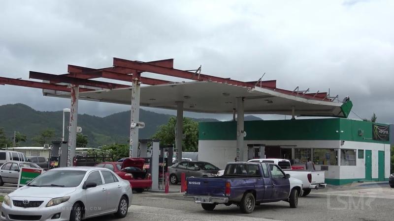 8 28 2019 Fajardo PRI City recoving from Maria prepares for Dorian Gas lines no gas empty shelves