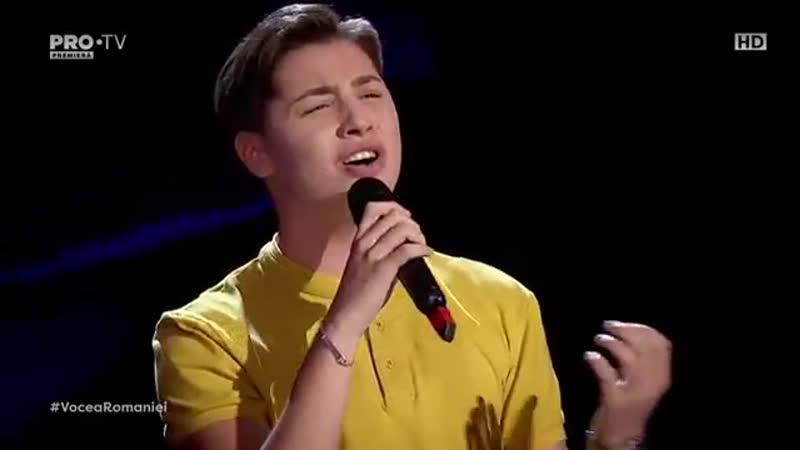 Valentin Poienariu - You are so beautiful (Vocea României 13_10_17)