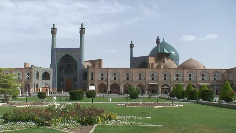 Isfahan the Imperial Capital of the Safavid Sufi Dynasty of Iran is Half of the World