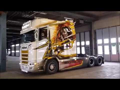 2019 Special Edition Scania S 500 XXL V8 Longline Larödákeri Transporte Next Generation