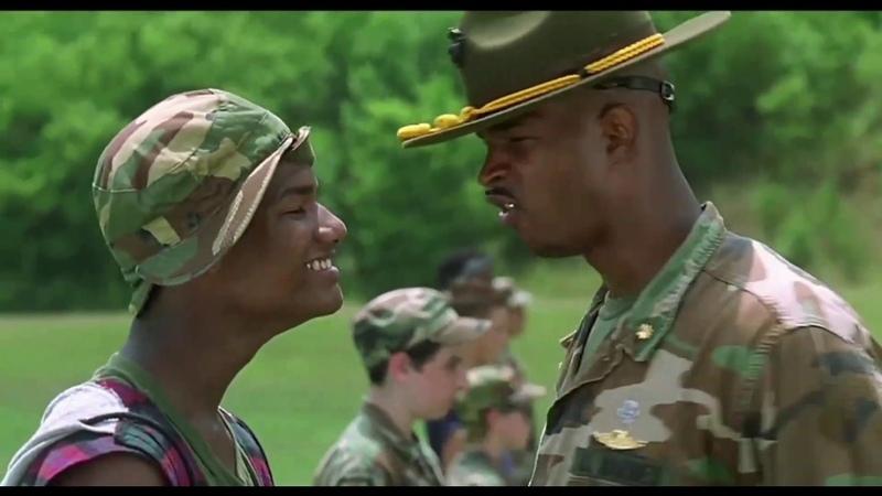 Майор Пейн знакомится с кадетами часть 2 ... отрывок из фильма (Майор Пейн/Major Payne)1995