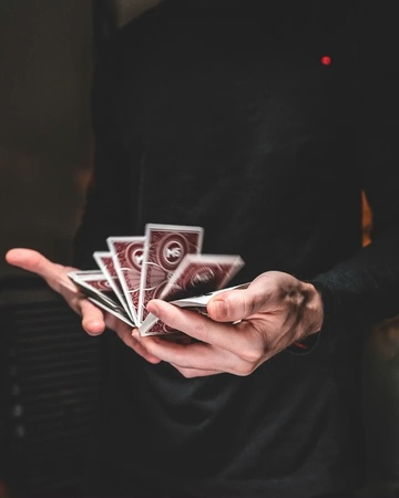 """Andrei Jikh on Instagram To the 5 Cardistry Fans I have left 😂 here's a Cardistry video the rest in my story ♠️"""""""