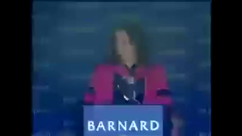 Meryl Streep's Commencement Speech at Barnard College 2010
