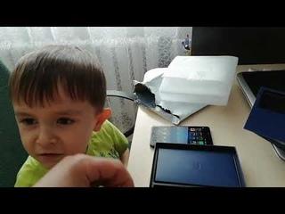 Самая детская и непосредственная распаковка смартфона LEAGOO T5