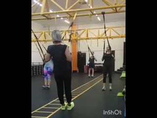 TRX - лечебная гимнастика.