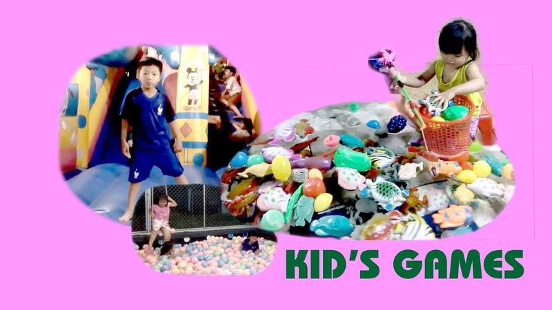 Khu Vui Chơi Tổng Hợp ❤ General Recreation Area ❤ Thanthu Kids TV