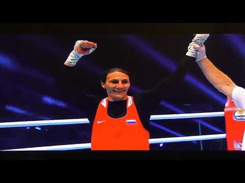 Улан-Удэ ФСК 11 чемпионат мира по боксу среди женищин Финал ч.13 13.10.2019 г