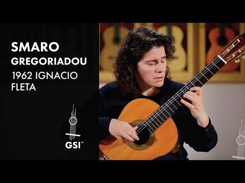 1962 Ignacio Fleta Smaro Gregoriadou plays Bach Allemande BWV 1007