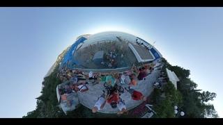 Праздник красок Гурзуф  Крым видео 360