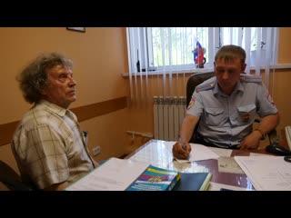 Житель Саранска выразил искреннюю благодарность участковому уполномоченному полиции