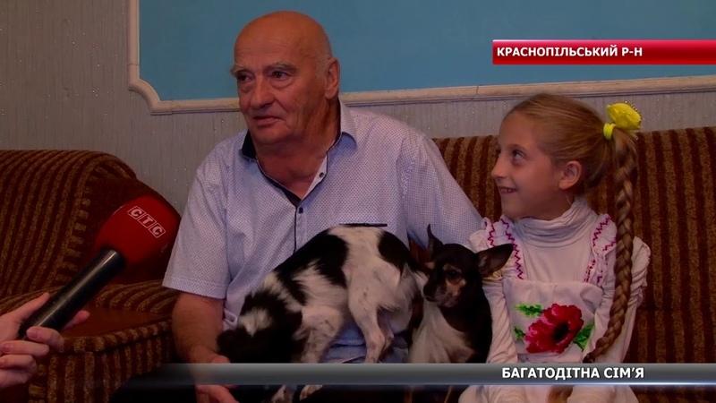 11 дітей: як живе багатодітна сім'я Бондарєвих з Краснопільщини?