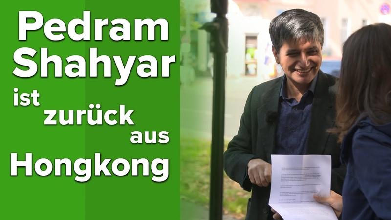 Es gab hässliche Szenen Pedram Shahyar schildert seine Eindrücke aus Hongkong