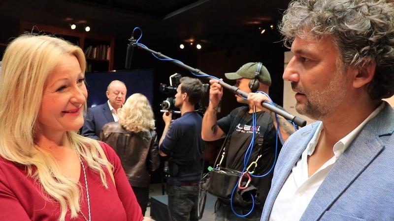 Vorstellung Edutainment Plattform Meet Your Master Interview mit Opernsänger Jonas Kaufmann
