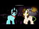 пойми на этот раз/пони клип/мои персонажи в роли аниматроников