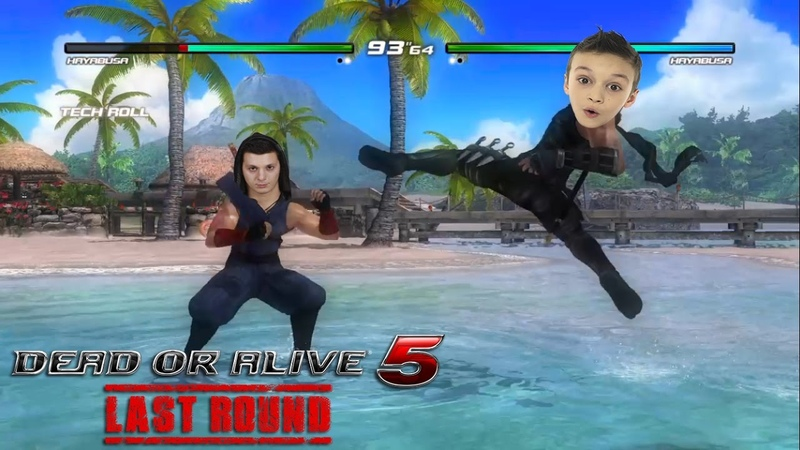 Кто Победит? Dead or Alive 5 Last Round игровой мультик family fun game for kids
