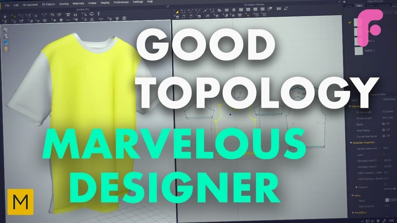 How to Get Good Topology for your Marvelous Designer Models