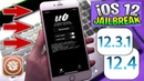 Unc0ver v12.4 Updated: iOS 12 - 12.3.1 12.4 Support Jailbreak Cydia!