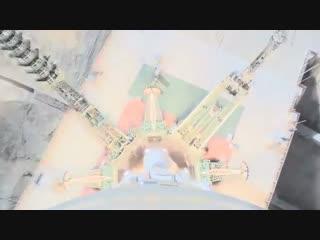 От запуска до взрыва: Роскосмос опубликовал видео с камеры, установленной на потерпевшей аварию ракете-носителе Союз-ФГ