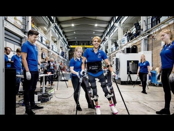 Экзоскелет испытал полностью парализованный человек с помощью силы мысли