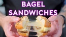 Binging with Babish Bagel Sandwiches from Steven Universe