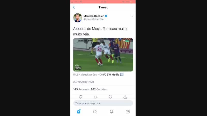 Messi se fodeu mane