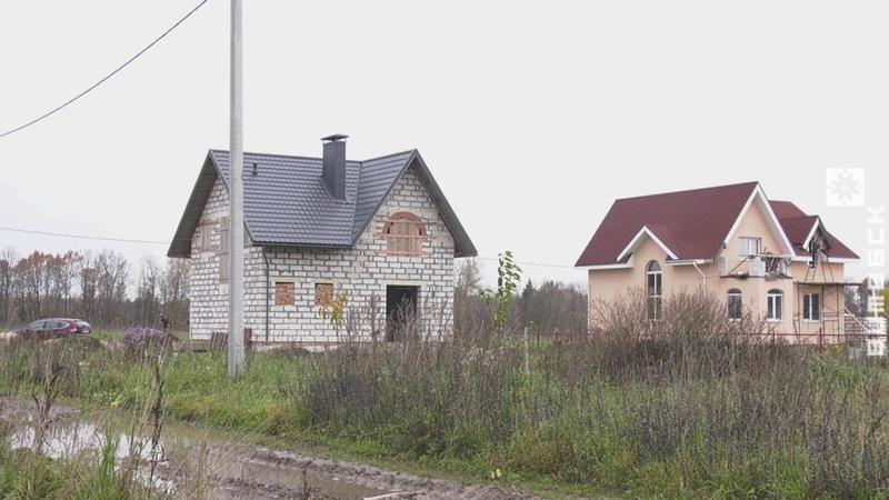 В агрогородке Вороны люди не могут вселиться в свои новые дома. В чём причина? (22.10.2019)