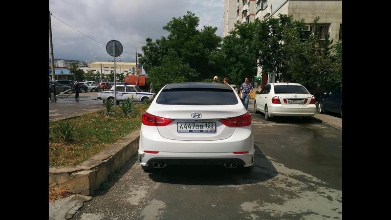 Hyundai Elantra V (MD) facelift 2014 - Zest body kit and NeX dual muffler