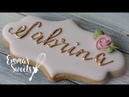 How to Make Royal Icing Leaves by Emma's Sweets