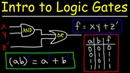 Logic Gates Truth Tables Boolean Algebra AND OR NOT NAND NOR