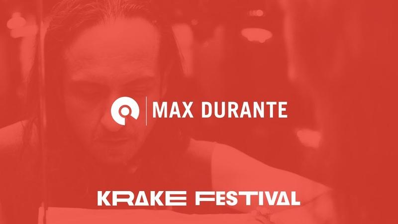 Max Durante DJ mix @ Krake Festival Vinyl Synth Market 2019   BE-AT.TV